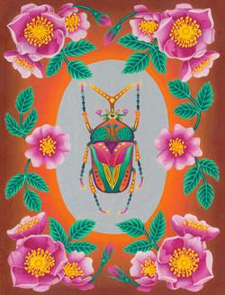 Flower Beattle 15x20-web