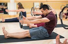 pilates class pliates circle