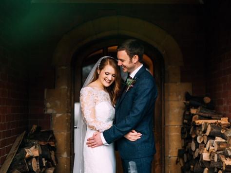 Winter Wedding at Berwick Lodge in Bristol