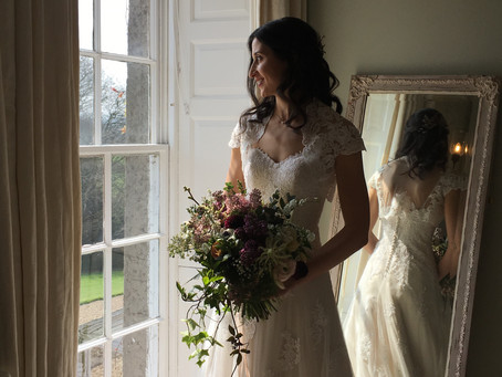 Elegant Spring wedding at Pennard House, Somerset