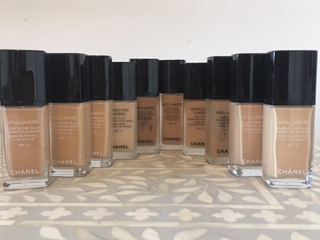 Bridal makeup - Chanel Foundations