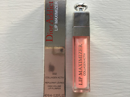 New make-up, Dior's plumping lip gloss