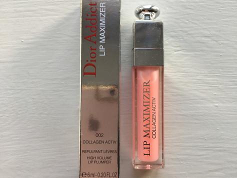 New make-up, Dior's plumping lip gloss