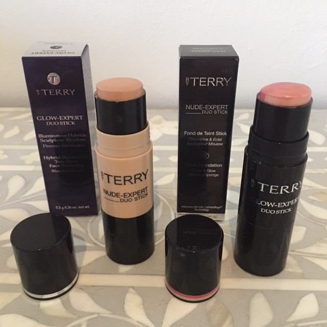 Terry Nude Expert duo stick and Terry Glow Expert duo stick