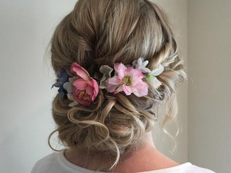Accessories for wedding hair - fresh flowers
