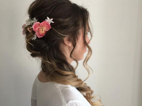 Pretty boho wedding hair inspiration