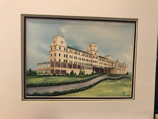 watercolor of Wentworth-by-the-Sea
