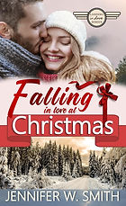Falling in love at Christmas Front Cover