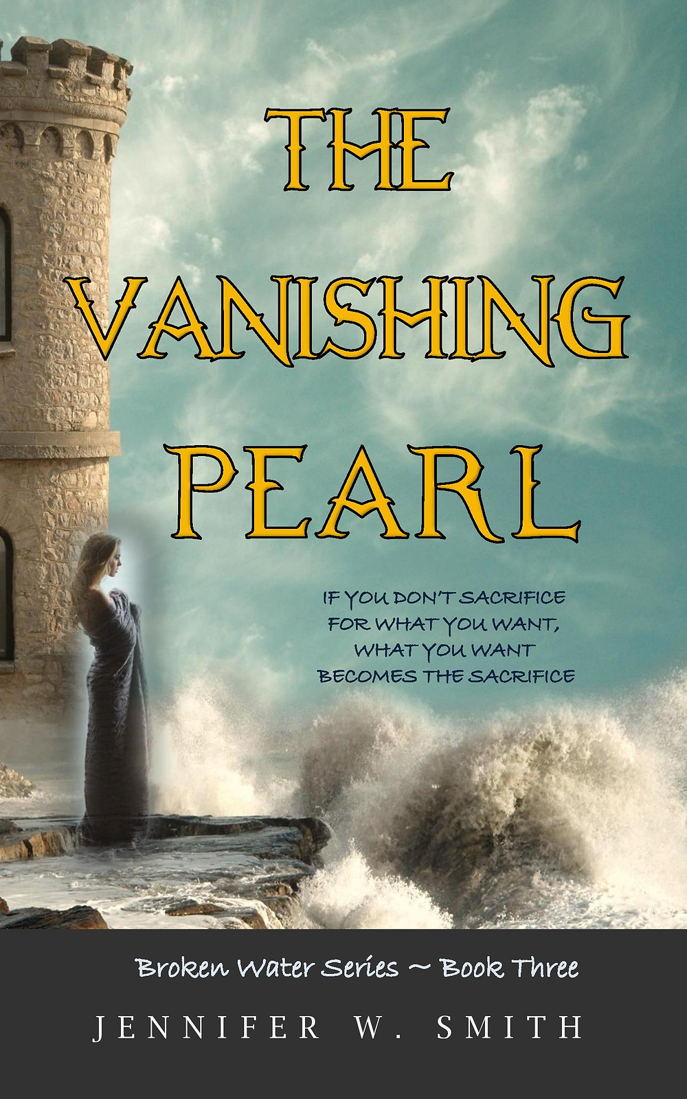 Book cover: The Vanishing Pearl