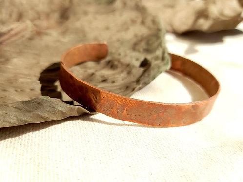 Bracelete Cobre Martelado (P)