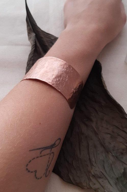 Bracelete Cobre Martelado (G)