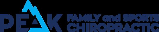 Peak Family and Sports Final Logo Horizo