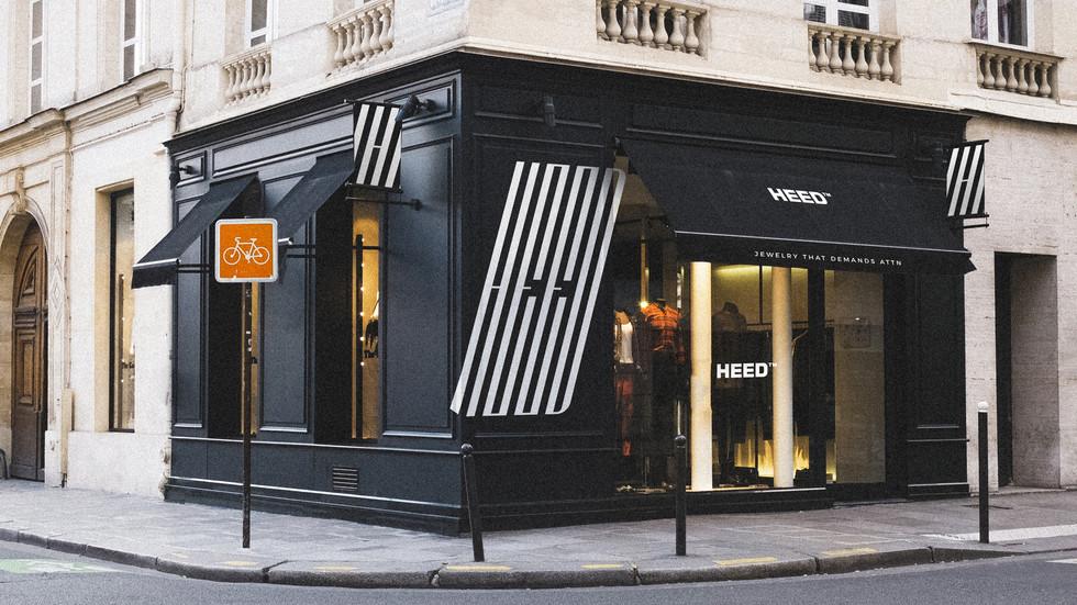 Unique Jewelry Storefront