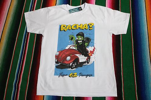 Camiseta Fusca HotRod - Racha?