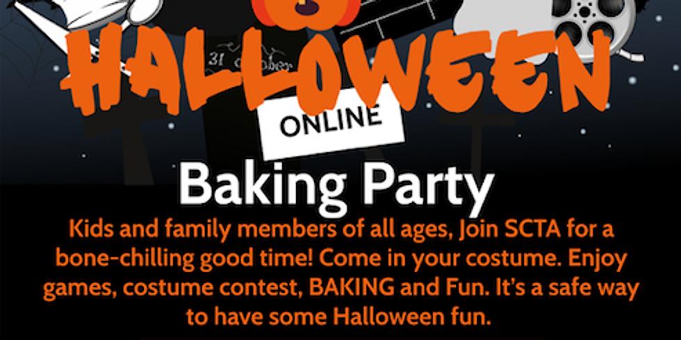 Halloween Baking Party