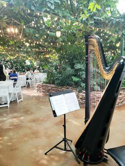 Wedding luncheon at Highland Gardens