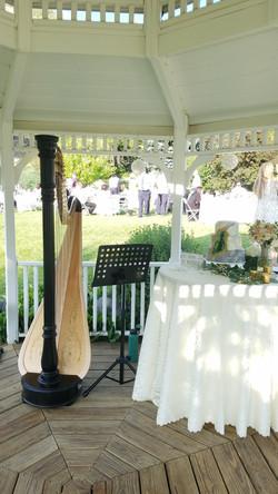 Wedding reception at Conrad Ranch