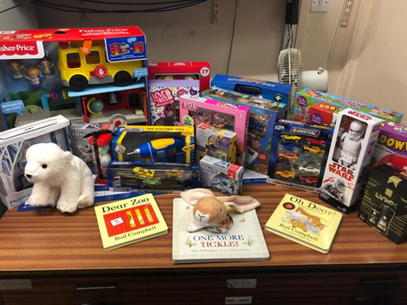 HALLAM FM TOY APPEAL