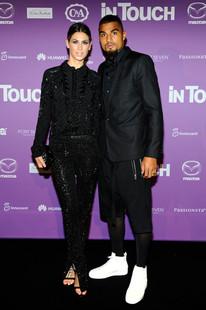 Melissa Satta & Kevin Prince Boateng I InTouch Award