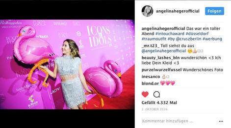 Angelina Heger I InTouch Award