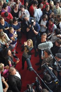 Shakira präsentierte bei Burda Live erstmalig in Deutschland ihre BAREFOOT FOUNDATION, die sich für Kinder auf der ganzen Erde einsetzt.