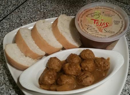 Tejas Spicy Bama Balls