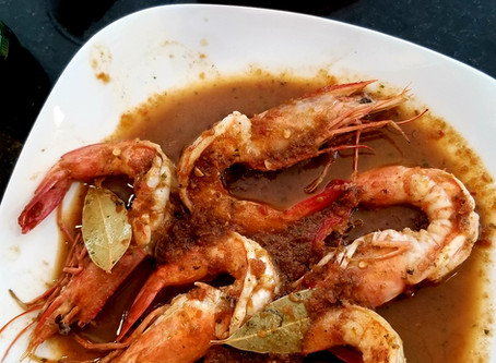 Tejas BBQ Shrimp Recipe