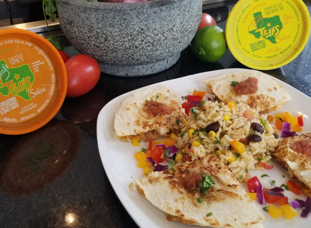 Tony Tejas Chicken Quesadillas