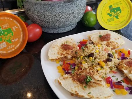 Tony Tejas Chicken Quesadillas