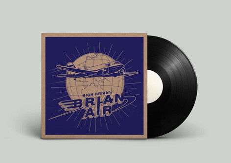 Record Cover High Brian