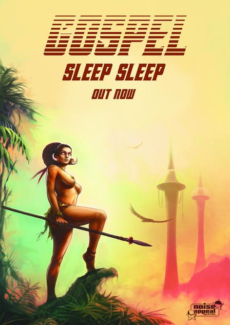 Sleep Sleep Poster Artwork
