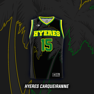 Maillot Basket Hyeres