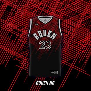 Maillot Basket Rouen