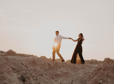 Engagement Session in the Badlands