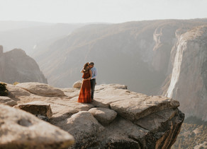 Engagement Session in Yosemite