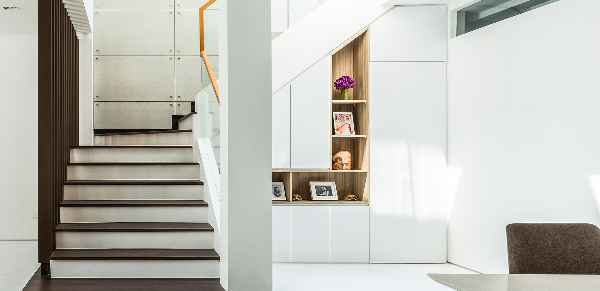 Wall shelves and Stair fences