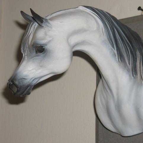 ראש סוס מפיברגלס