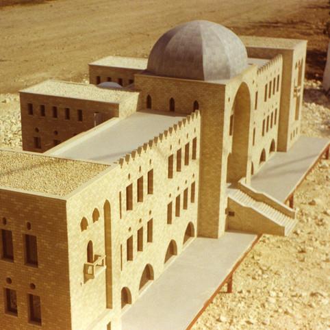 מודל לבנין הטכניון למיני ישראל
