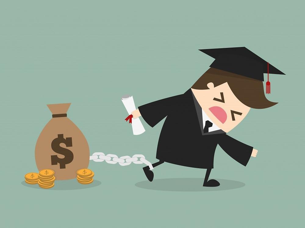 student loan repayment, debt, student loan, retirement, refinancing