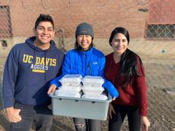 Tacos-giving Volunteers
