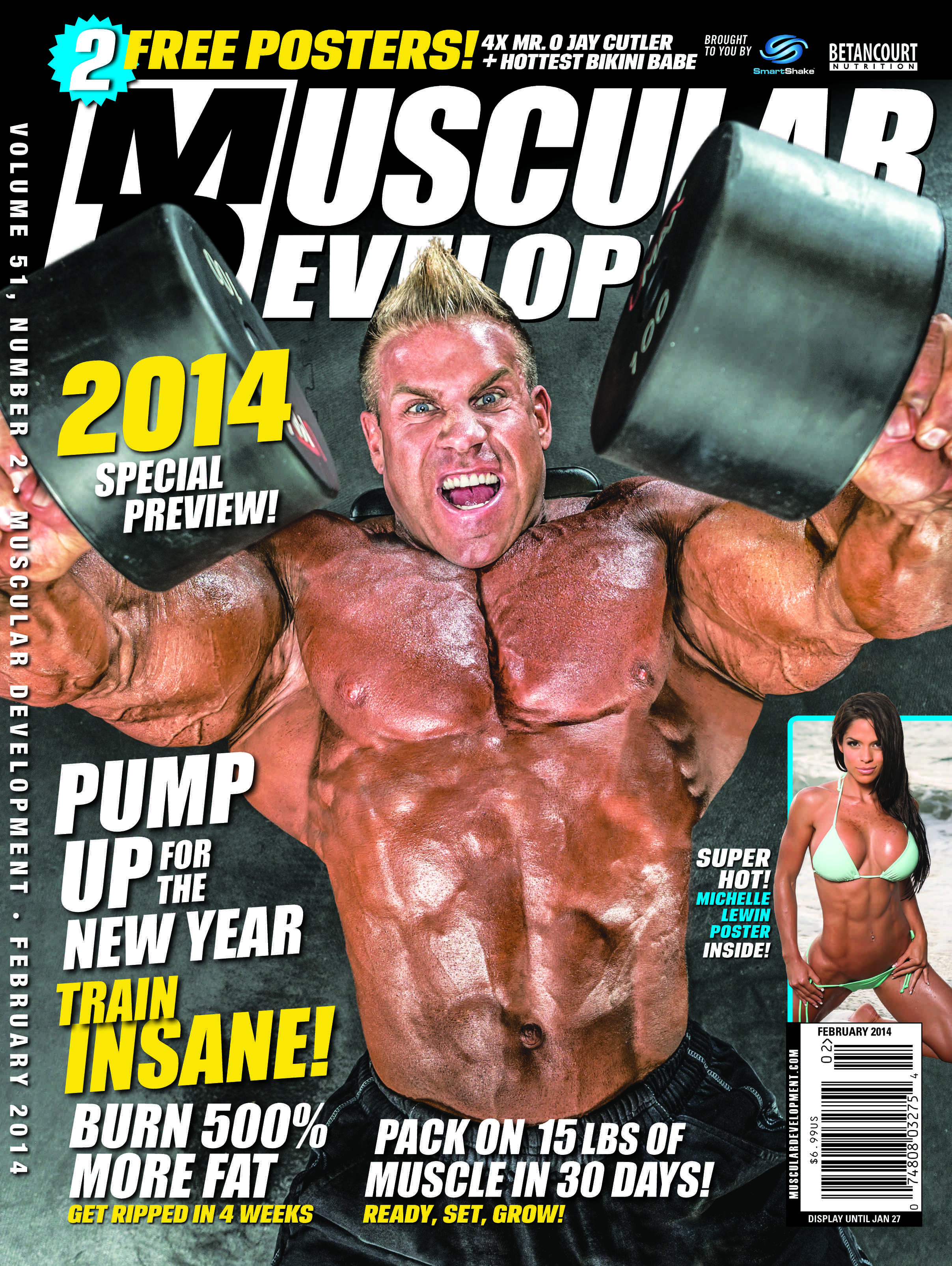 Gregory James Muscular Development Magazine Cover Jay Cutler