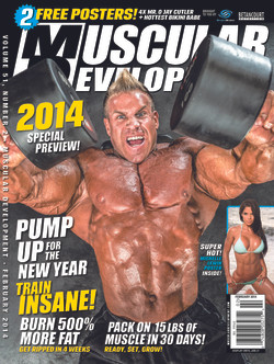Gregory James Muscular Development Magazine Cover Jay Cutler