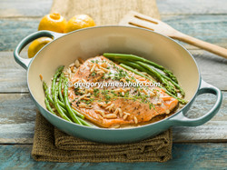 Buttered Almond Salmon