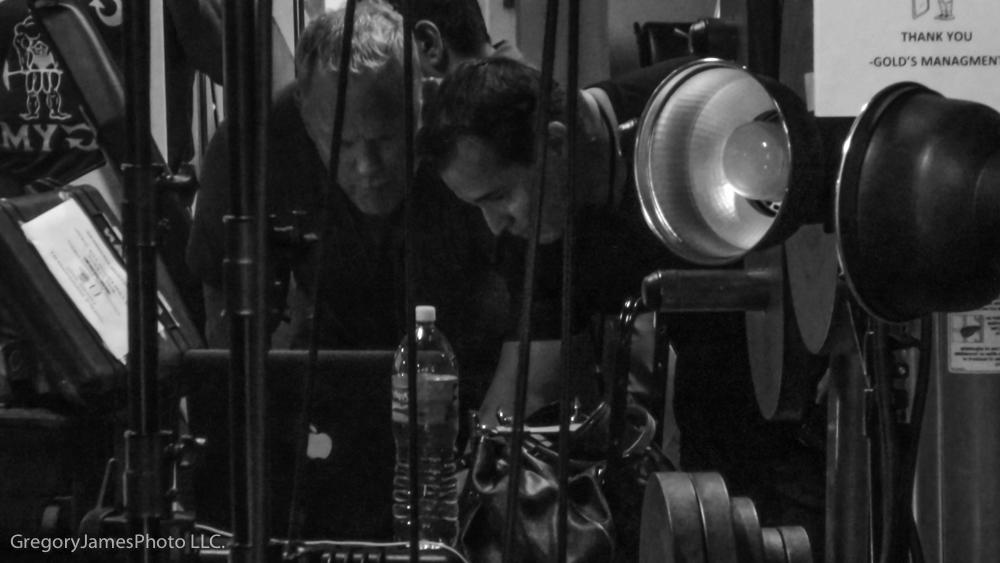 Behind The Scenes Gregory James