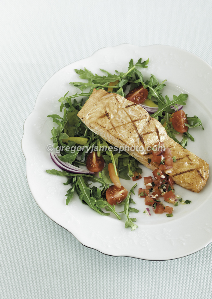 Grilled Salmon ( COVER )
