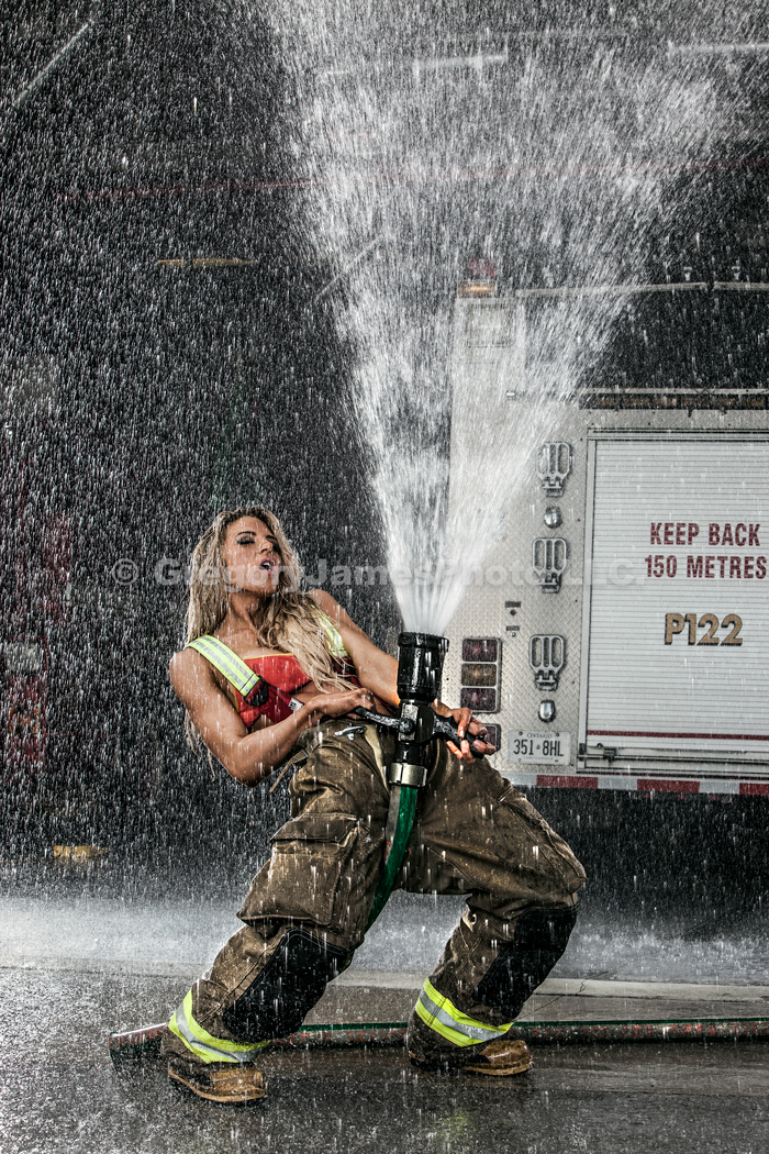 Jamie Bernharet Firefighte