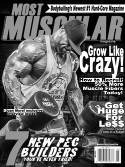 MOST MUSCULAR Magazine Cover