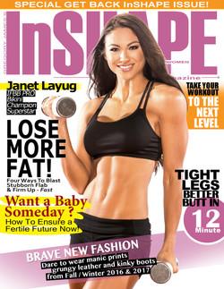 InShape For Women Cover