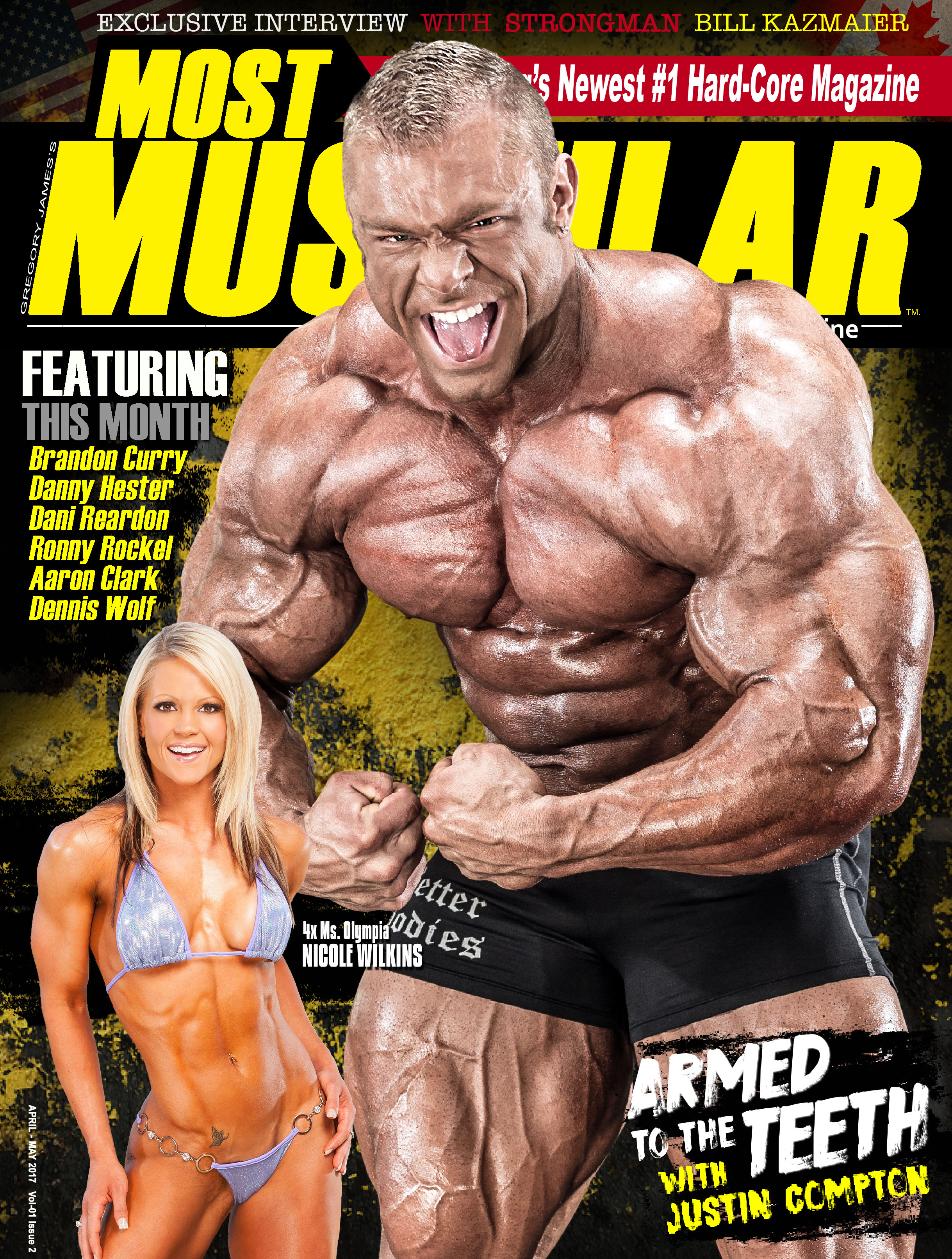 02 Most Muscular Magazine - April-MayCover