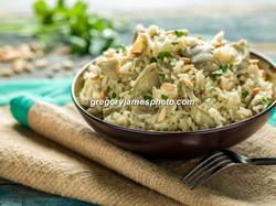 Artichoke Rice Pilaf